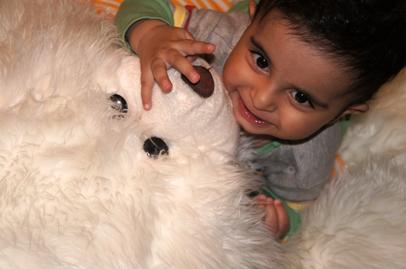 رایین و عروسک غول پیکر!