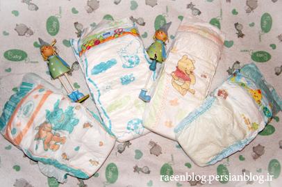 حساسیت پوشک نوزاد