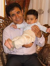 رایین و بابا حسن