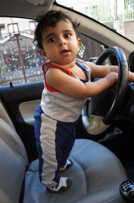 رایین راننده میشود